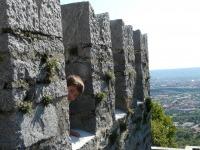 ...castelli in posizioni panoramiche...